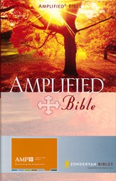 Amplified Bible, Hardcover, Thumb-Indexed