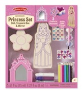 Decorate Your Own Princess Set