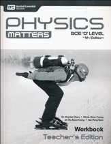 Physics Matters Workbook Teacher's Edition Grades 9-10 4th Edition, Reprint