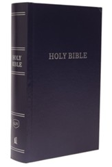 KJV, Pew Bible, Large Print, Hardcover, Navy