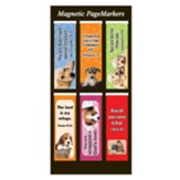 Magnetic Bookmarks, Set of 6, Puppies Assortment I