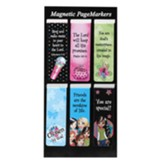Magnetic Bookmarks, Set of 6, Little Miss Grace