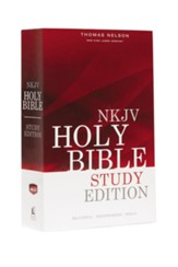 NKJV, Outreach Bible, Study Edition, Paperback - Slightly Imperfect