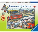 Railway Station, 60 Piece Puzzle