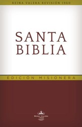 Biblia RVR 1960 Edición Misionera  (RVR 1960 Outreach Bible) - Slightly Imperfect