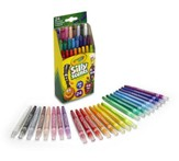 Silly Scents, Mini Twistables Crayons, 24 pieces