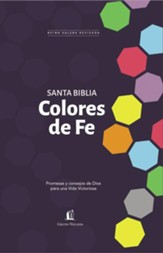 Biblia Colores de Fe RVR 1977, Enc. Dura  (RVR 1977 Faith Colors Bible, Hardcover)