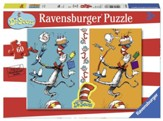Dr. Seuss, The Cat in the Hat See A Difference? Puzzle, 60 Pieces