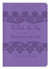 2017 Planner - For Each New Day