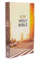 KJV, Value Outreach Bible, Paperback, Urban Scenic