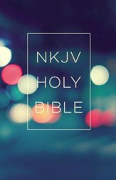 NKJV, Value Outreach Bible, Paperback, Urban Scenic