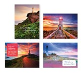 Lighthouse Sympathy Cards, Box of 12