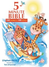 5-Minute Bible: 100 Stories and Songs