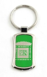 Bott Radio Network Keyring, Green
