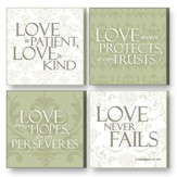 Treasured Times Plaques, Love Is Patient