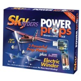 Sky Riders Power Props, 4 Planes and Winder