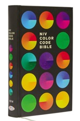 NIV Color Code Bible, Hardcover, Printed Caseside