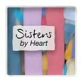 Sisters By Heart Magnet