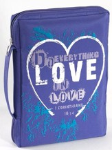 Love Microfiber Bible Cover