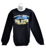 This Offer Expires Sweatshirt, Navy, Small