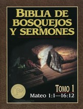 Biblia de Bosquejos y Sermones: Mateo 1:1-16:12  (The Preacher's Outline & Sermon Bible: Matthew 1:1-16:12) - Slightly Imperfect