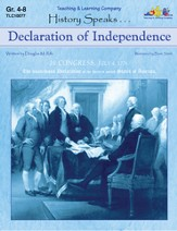 History Speaks...Declaration Of Independence
