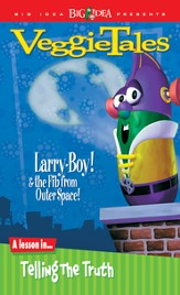 Larryboy and the Fib from Outer Space, VeggieTales DVD