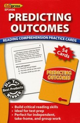 Predicting Outcomes Reading Comprehension Practice Cards - Red 2.0-3.5