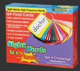 Sight Words in a Flash Set 4, Challenging, Grades 4+