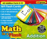 Math in a Flash Flashcards: Addition