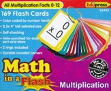 Math in a Flash Flashcards: Multiplication