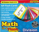 Math in a Flash Flashcards: Division