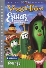 Esther: The Girl Who Became Queen, Classic VeggieTales DVD,  Reissued