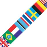 International Flag Spotlight Border