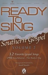 Ready to Sing Southern Gospel, Volume 2 (Choral Book)
