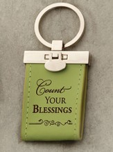 Count Your Blessings Keychain