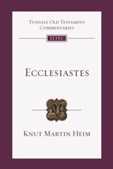 Ecclesiastes: An Introduction and Commentary - eBook