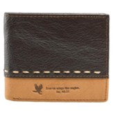 On Wings Like Eagles - Leather Wallet
