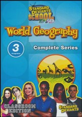 Standard Deviants School World Geography Super Pack DVD