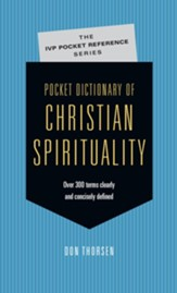 Pocket Dictionary of Christian Spirituality - eBook