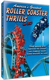 America's Greatest Roller Coasters DVD Set Volumes 1-3 - Slightly Imperfect
