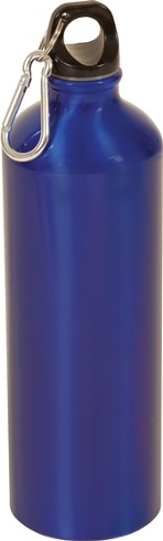 Blank/Blue Metal Water Bottle