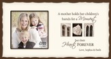 Personalized, Mom Photo, Cream