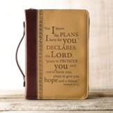 LuxLeather Jeremiah 29:11 Cover, Medium