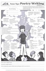 Poster Paper: Poetry Writing, Grades 4-6  (Pack of 30)