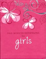 One Minute Devotions For Girls  - Slightly Imperfect