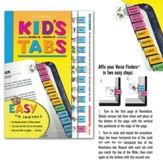 Kids Horizontal Bible Tabs