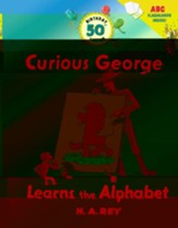 Curious George Learns the Alphabet 50th Anniversary Edition