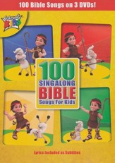 100 Sing-Along Bible Songs for Kids DVD