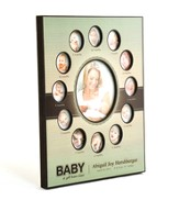 Personalized, Baby's First 12 Months Photo Frame